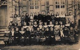 Namêche L'école Des Sœurs En 1908 Carte Photo - Andenne