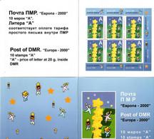Moldova / PMR Transnistria . EUROPA 2000. TRAINEE D'ETOILES  . Booklet - Moldova