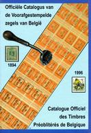 Catalogus Voorafgestempelde Zegels België 1894-1996 PDF Op DVD - Belgio