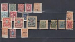 Russland Michel Cat.No. Regionals Batch Mixed - Unused Stamps