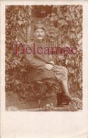 """Carte Photo : Soldat Du 24e """" Charles Sauvage """" Prisonnier Au Camp De Stuttgart 1916 Famille Sauvage à La Harengère (27) - Uniforms"""