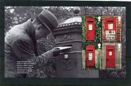 GREAT BRITAIN - 2009  POST BOXES  PANE  EX  PRESTIGE  BOOKLET  ARCHIVES  MINT NH - Markenheftchen