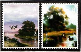 Moldova / PMR Transnistria . EUROPA 2001. Water,a Natural Treasure(Birds) .2v:A,B - Moldova
