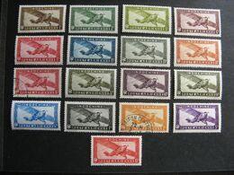 Indochine: TB  Série PA N° 1 Au PA N° 14 , Neufs X Sauf Les PA 8 Et 12 Oblitérés . GT. - Airmail