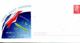 Nouvelle Calédonie - Entier Postal Yvert 112 E Visite Du Président De La République - R 6189 - Postal Stationery