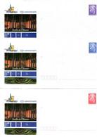 Nouvelle Calédonie - Entier Postal Yvert 132 à 134 E Commune De Moindou - R 6191 - Postal Stationery