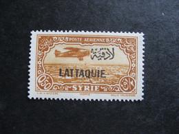 Lattaquié :  TB PA N° 1. Neuf X. - Unused Stamps