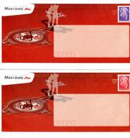 Nouvelle Calédonie - Entier Postal Yvert 135 & 137 E Ville De Mont-Dore - R 6192 - Postal Stationery