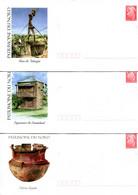 Nouvelle Calédonie - Entier Postal Yvert 138 à 140 E Patrimoine Du Nord - R 6193 - Postal Stationery