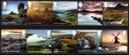 Great Britain - 2021 - National Parks - Mint Stamp Set - Nuevos