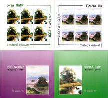 Moldova / PMR Transnistria . EUROPA 2001. Water,a Natural Treasure(Birds) .Booklet. - Moldova