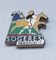 Pin' S  ARTHUS  BERTRAND, Sport, SOGERES  PARAPUBLIC  Avec  SOGERES - Arthus Bertrand