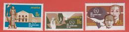 1986 Malta ** (sans Charn., MNH, Postfrisch)   Yv 724/6Mi  743/5 SG 776/8 - Malta