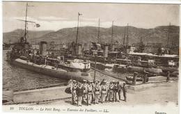 CPA - 83 - TOULON - Le Petit Rang - Exercice De Fusiliers - - LL - Toulon