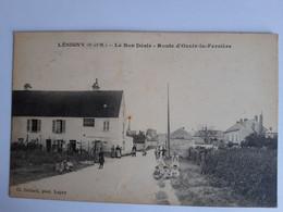 CPA - Lésigny (77) - Le Bon Désir - Route D'Ozoir-la-Ferrière - Lesigny