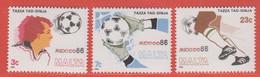 1986 Malta ** (sans Charn., MNH, Postfrisch)   Yv 729/31Mi  748/50 SG 781/3 - Malta