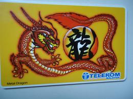 MALAYSIA USED  CARDS  CHINESSE   DRAGON - Malaysia