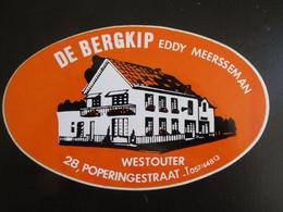 Sticker De Bergkip Westouter - Stickers