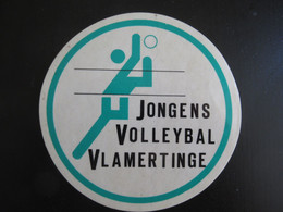 Sticker Jongens Volleybal Vlamertinge - Stickers