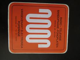 Sticker Elektronica Vansevenant Poperinge - Stickers