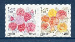 ⭐ France - Yt N° 4957 Et 4958 ** - Neuf Sans Charnière - 2015 ⭐ - Nuovi