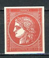 YT 5361D Cérès Rouge Issue Du Bloc Du Carnet **  (L1559) - Unused Stamps