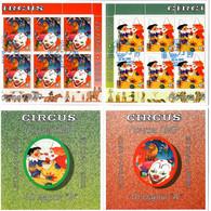 Moldova / PMR Transnistria . EUROPA 2002. Circus. Booklet.  (oo) - Moldova