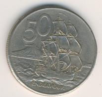 NEW ZEALAND 1979: 50 Cents, KM 37 - New Zealand