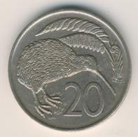 NEW ZEALAND 1977: 20 Cents, KM 36 - New Zealand