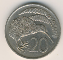 NEW ZEALAND 1975: 20 Cents, KM 36 - New Zealand