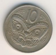 NEW ZEALAND 1971: 10 Cents, KM 41 - New Zealand