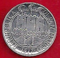 SAINT-MARIN 1 LIRE - 1977 - San Marino