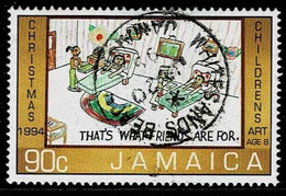 Jamaika 1994,Michel# 849 O Christmas - Jamaique (1962-...)
