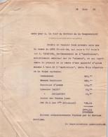 COMPAGNIE DES MESSAGERIES MARITIMES / PARTAGE D UNE SAISIE D OPIUM A BORD DE L AUSTRALIEN 110 - Schiffe