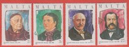 1986 Malta ** (sans Charn., MNH, Postfrisch)   Yv 732/5Mi  751/4 SG 785/8 - Malta