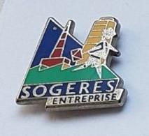 Pin' S  ARTHUS  BERTRAND, SOGERES  ENTREPRISE  Avec  SOGERES - Arthus Bertrand