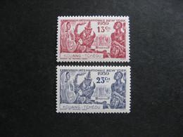 Kouang-Tchéou:  TB Paire N° 118 Et N° 119. Neufs X. - Neufs