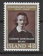 ISLANDA - 1963 - 100° MUSEO NAZIONALE - SERIE 2 VALORI - NUOVA MNH** (YVERT 323\4 - MICHEL 368\9) - Ungebraucht