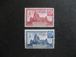 Kouang-Tchéou:  TB Paire N° 138 Et N° 139. Neufs X. - Neufs