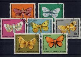 Mongolia,  Mongolei,  1977,  Falter, Schmetterlinge, Butterflys - Mongolia