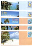 Nouvelle Calédonie - Entier Postal Yvert 146 à 155 E Ouvéa Lifou Tiga Maré Iles Loyauté - R 6196 - Postal Stationery