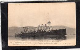 """Le """"Jeanne D'Arc"""" Croiseur Cuirassé Ayant à Bord M. Loubet - Other"""