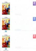 Nouvelle Calédonie - Entier Postal Yvert 201 à 203 E 1er Prix Concours Jules Verne - R 6199 - Postal Stationery