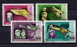 Mongolia,  Mongolei,  1978,  Flugzeuge,  Aircrafts, - Mongolia
