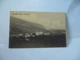PROVAGLIO D'ISEO ITALIA ITALIE LOMBARDIA LOMBARDIE BRESCIA PANORAMA CPA 1917 - Brescia