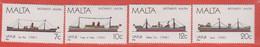 1986 Malta ** (sans Charn., MNH, Postfrisch)   Yv 739/42Mi  758/61 SG 792/5 - Malta