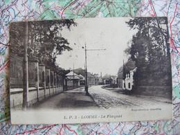 """LOMME Nord 59 Le Flaquet 1933 Cachet Postal Lille  """" Aimez Protégez Le Pigeon Voyageur Serviteur Du Pays """" - Lomme"""
