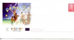 Nouvelle Calédonie - Entier Postal Yvert 218 E 50e Anniversaire Du Traité De Rome - R 6203 - Postal Stationery