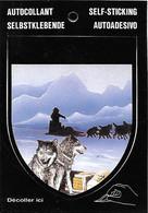 Autocollant - Self Sticking - Husky - Chien Chiens De Traineau Traineaux - - Adesivi