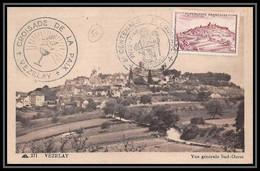 0408/ Carte Maximum (card) France N°759 Vézeley Croisade De La Paix 1946 - 1940-49